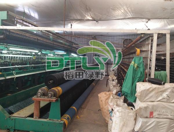 绿野遮阳网生产车间